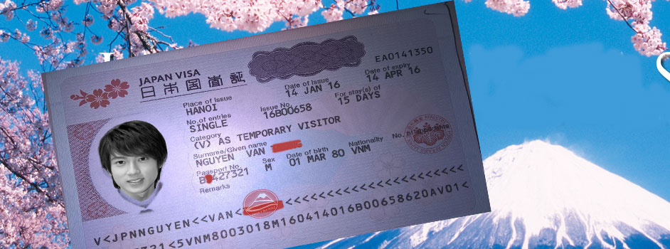 Thời gian xin visa Nhật
