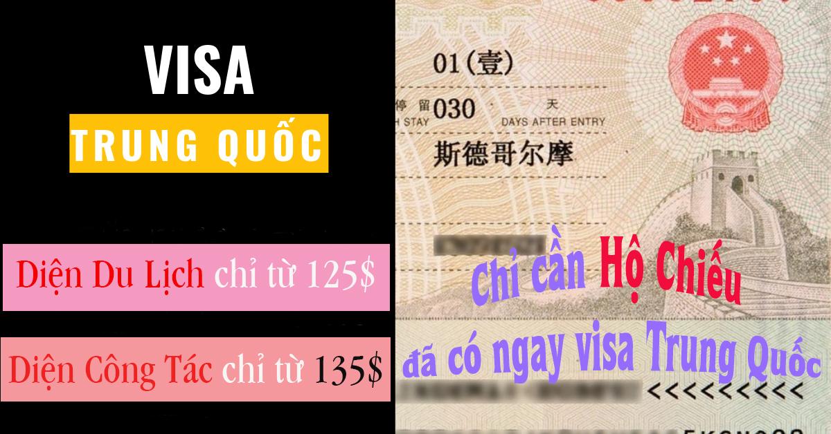Giá Visa Trung Quốc Bao Nhiêu - Dịch Vụ Visa Trung Quốc Giá Rẻ Tại Đà Nẵng