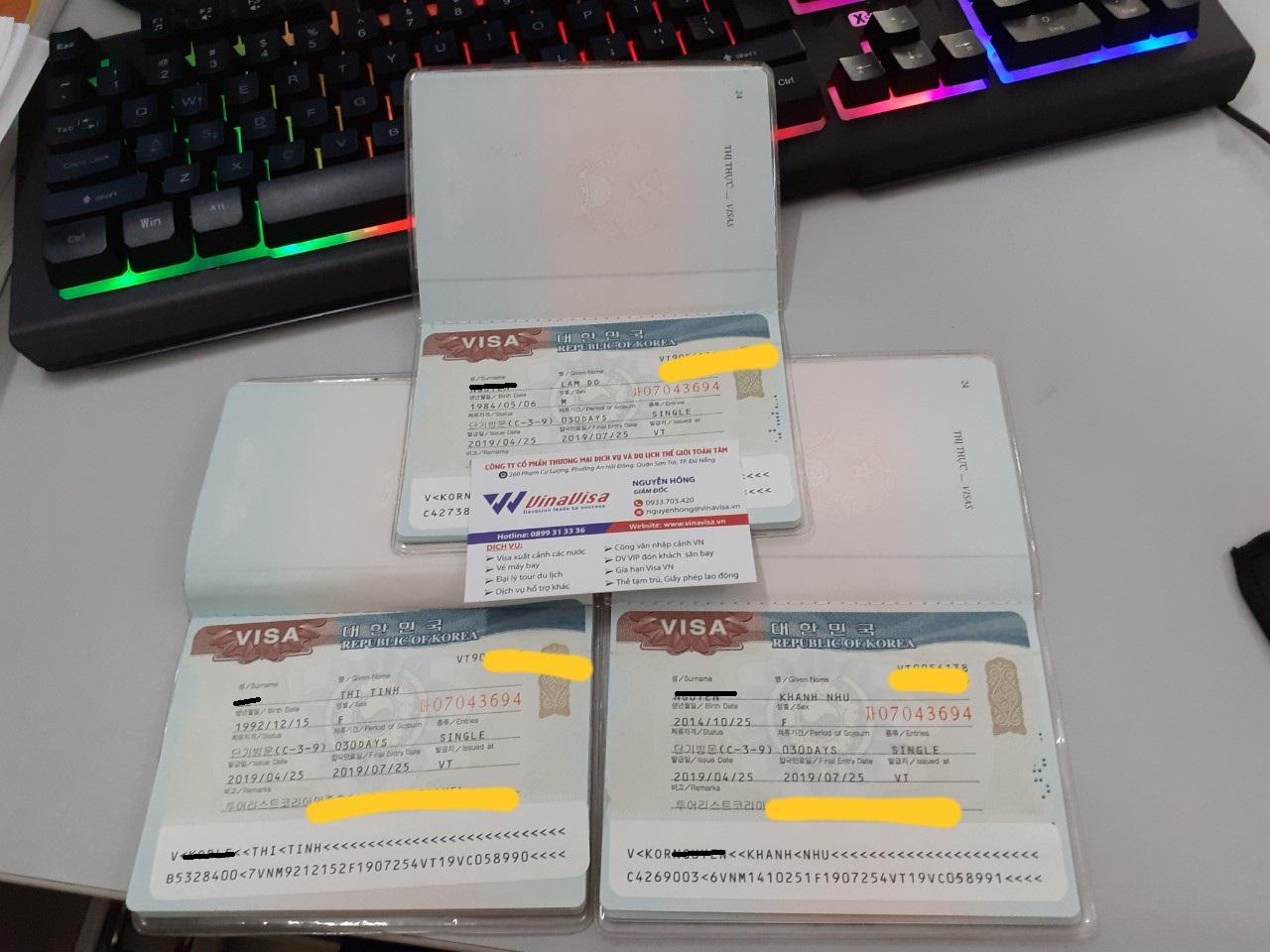 Visa Hàn Quốc - Hộ Khẩu Nghệ An - Cả Gia Đình Cùng Đi Du Lịch Korea