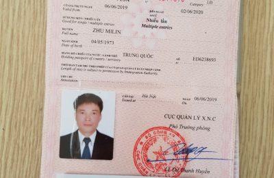 Visa Việt Nam theo diện DN – Quốc tịch Trung Quốc ( Nằm trong đường lưỡi bò)