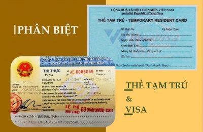 Phân biệt Thẻ Tạm Trú tại Đà Nẵng và Visa Việt Nam siêu dễ dàng