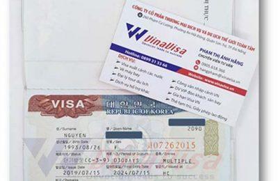 Kết Quả Visa Hàn 5 Năm theo diện Multiple – VinaVisa