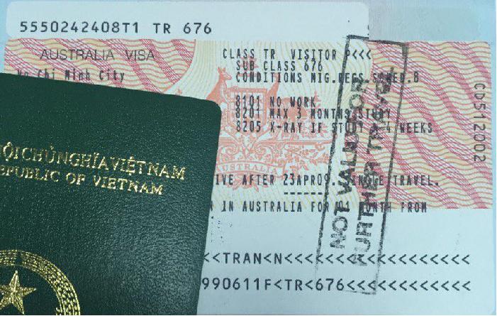 Những điều lưu ý về visa đi Úc tại Đà Nẵng để thăm thân