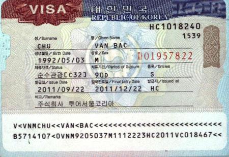 Chứng Minh Tài Chính – Tài Sản Khi Xin Visa Hàn Quốc
