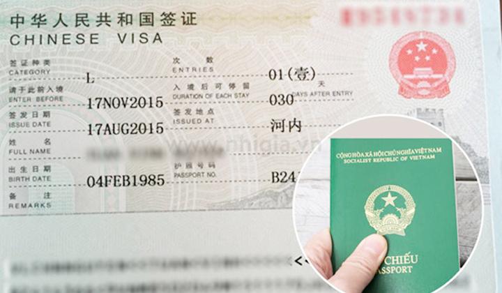 Visa đi Trung Quốc tại Đà Nẵng