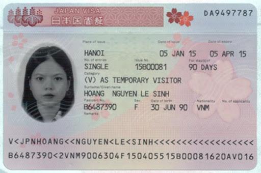 làm visa đi Nhật Bản tại đà nẵng